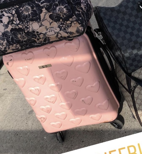 Lost: Pink suitcase