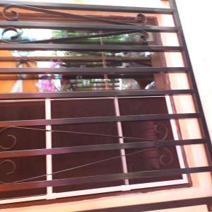 wrought iron grille wanted for doors
